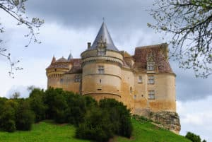 One can see many of the 1001 chateaux throughout the Dordogne Valley